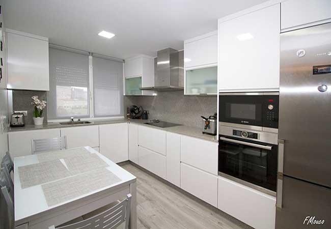 Imágenes del diseño de cocina en vivienda Ronda (2) (La Coruña ...