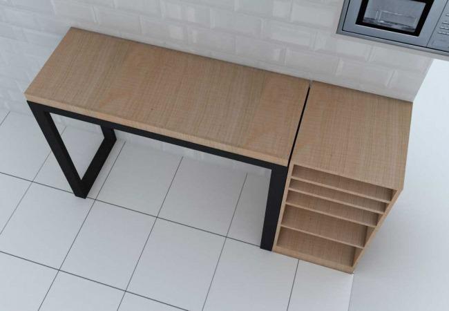 Diseño de mobiliario de cocina